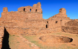 Kiva in the Mission of San Gregorio de Abo in Salinas Pueblo Missions National Monument