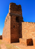 Side altar in the Mission of San Gregorio de Abo in Salinas Pueblo Missions National Monument