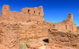 Ruins of Mission of San Gregorio de Abo in Salinas Pueblo Missions National Monument