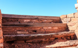 Choir steps at Mission of San Gregorio de Abo in Salinas Pueblo Missions National Monument