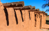 Plazuela, fortified ranch, from the early 1800s in Salinas Pueblo Missions National Monument