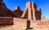 View from inside Quarai in Salinas Pueblo Missions National Monument