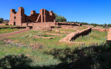 Quarai from the south convento in Salinas Pueblo Missions National Monument