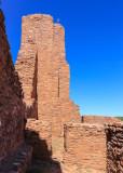 Tower of Quarai in Salinas Pueblo Missions National Monument