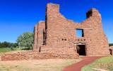 Quarai church in Salinas Pueblo Missions National Monument