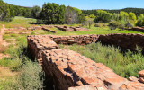 Ruins around Quarai in Salinas Pueblo Missions National Monument