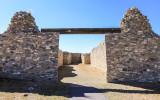 Gran Quivira ruins and altar area in Salinas Pueblo Missions National Monument