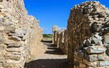 Gran Quivira convento walls in Salinas Pueblo Missions National Monument