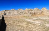 Convento area in Gran Quivira in Salinas Pueblo Missions National Monument