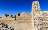 Ruins of the convento at Gran Quivira in Salinas Pueblo Missions National Monument