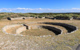Large community kiva at Gran Quivira in Salinas Pueblo Missions National Monument