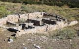 Ruins behind Gran Quivira in Salinas Pueblo Missions National Monument