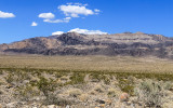 Southern end of the Sheep Mountain Range in Desert National Wildlife Refuge