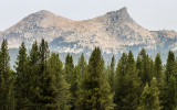 Cathedral Peak along the Tioga Road in Yosemite National Park
