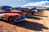 Lots of Late 1940's Oldsmobiles