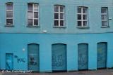 Door and Window Warp in Blue