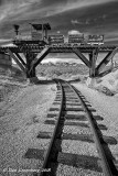 Train Tracks under the Train