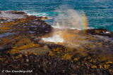 Spouting Horn and a Rainbow