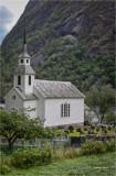 Village church Balestrand, Norway