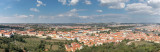 Panorama of Prague, CZ.