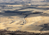 View of the Palouse from Steptoe Butte, Eastern WA