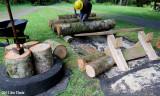 Loading 400lb Log