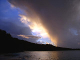 The first storm while I was there...