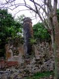 Ruins from an old sugar plantation.