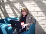 Lori Working Hard