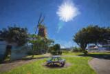 Foxton Windmill - Impression 2 - Impasto
