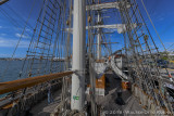 Looking Aft at the Main Deck