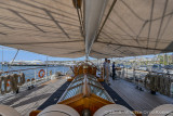 Looking Aft to the Helm