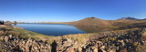 Lake on top of Aragats