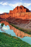 Butte Reflection in Colorado 1