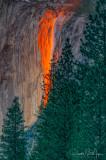 Horestail Falls Sunset