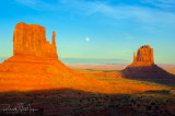 Typical Monument Valley Sunset