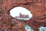 Turret Arch through North Window - Horizontal