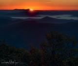 Sunrise from the Blue Ridge