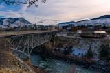 Gardiner MT, Bridge over the Yellowstone River