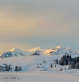 Sunrise Over Little Quadrant Mountain