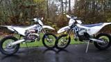 TE250i TPI vs TE250 Mikuni Carburetor