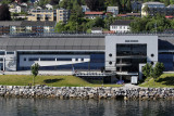 We docked in Molde near the square Aker Stadium, which seats many more people than the population of Molde