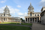 Anne met us for dinner in Greenwich & a beautiful evening stroll around the college and Greenwich Pier area
