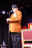Howard enjoyed the comedy and magic show by Mel Mellers that night