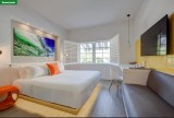 Wanted to stay in Miami Beach; found the impossible: a fun & decent $99 total cost hotel (Vintro, pre-paid on Expedia).