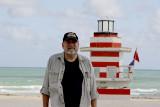 Howard at the jetty lifeguard station
