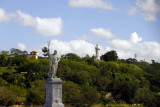 From Av de Puerto later in Havana, I photographed the Cristo statue