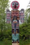 Took silver line bus south to Saxman Totem Park