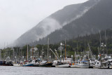 Gary told us about the amazing amount of boat/marina space in Sitka.