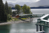 Woke up in Icy Strait Point, only privately-owned port in North America (owned byTlingit Indians).